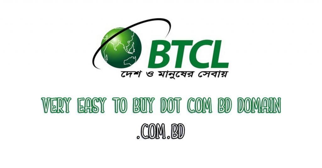 Very easy to buy dot com bd domain